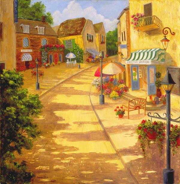 1-italian-village-jeanene-stein1