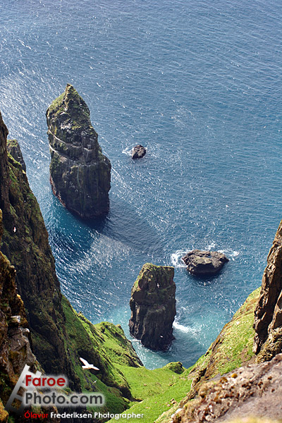 An amazing off-the-cliffside view, ripped from http://www.faroephoto.com/gallery/