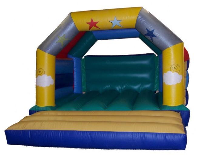 A bouncy castle.