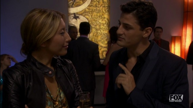 Sierra and Victor fall in love...! (This is rather cute by the way; probably best bit of the episode.)