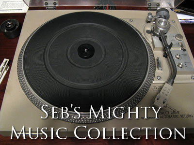 Seb's Mighty Music Collection -- album list
