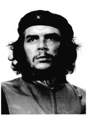 Che Guevara looking incredibly dashing. I am not saying I'm a Marxist...