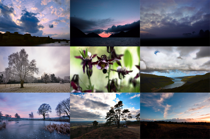 A collage of just a SMALL selection of my pretty photos.