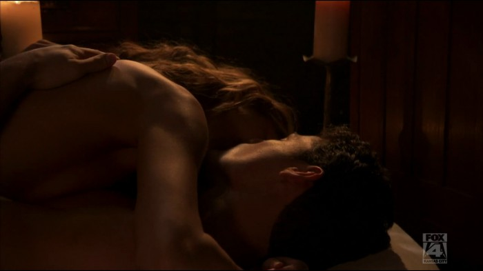 As Victor would say: 'For the win!!' -- Finally, Sierra and Victor get it on. Dichen Lachman is rather attractive topless.