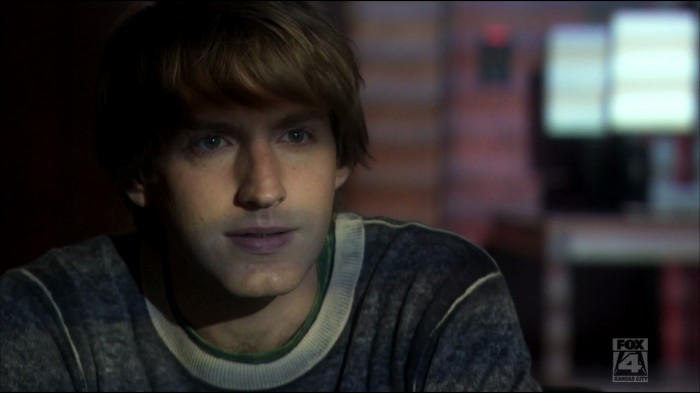 Fran Kranz (Topher) looking almost cute.