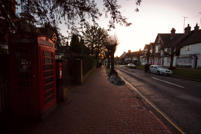 Just looking down the High Street.