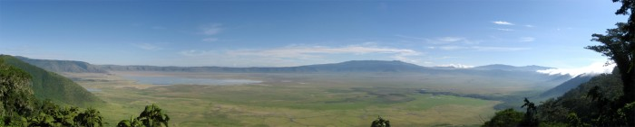 Ngorogoro Crater, stolen from Wikipedia, taken by Thomas Huston