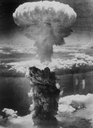 Hiroshima, the end of the second world war.