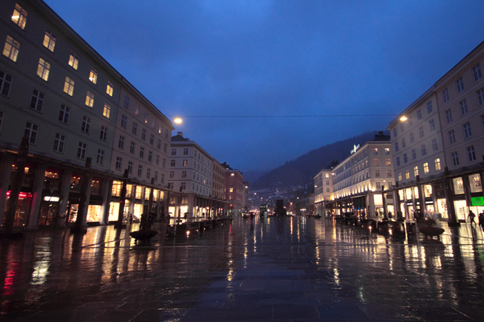 Central Bergen again, this time the 'market' or... downtown I guess.