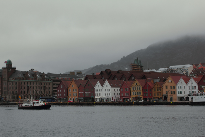 Bryggen, ye olde Hanseatic part of Bergen