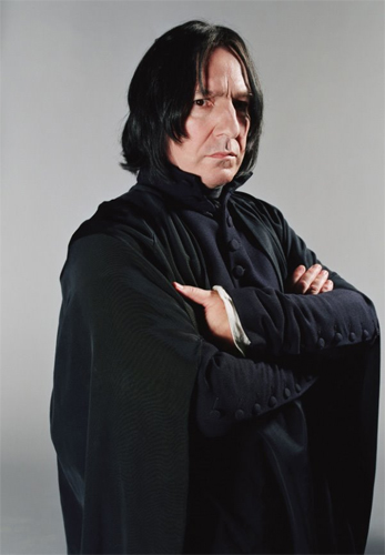 Severus Snape. Slimy... and delicious. RICKMAN RULES.