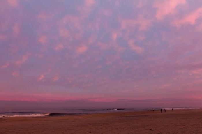 Asbury Park pink sunset