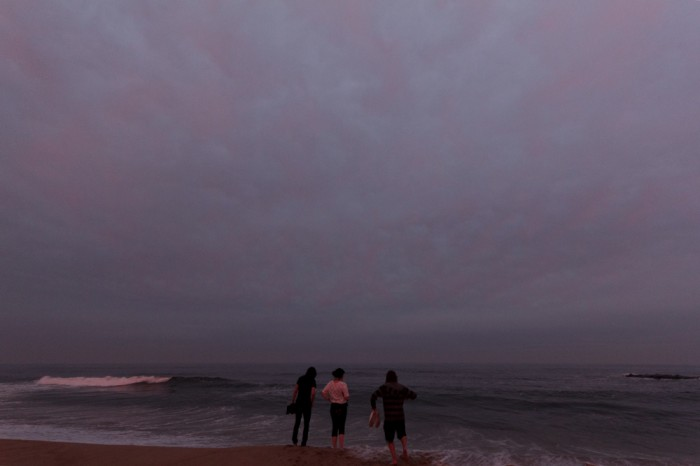 Asbury Park teen sunset
