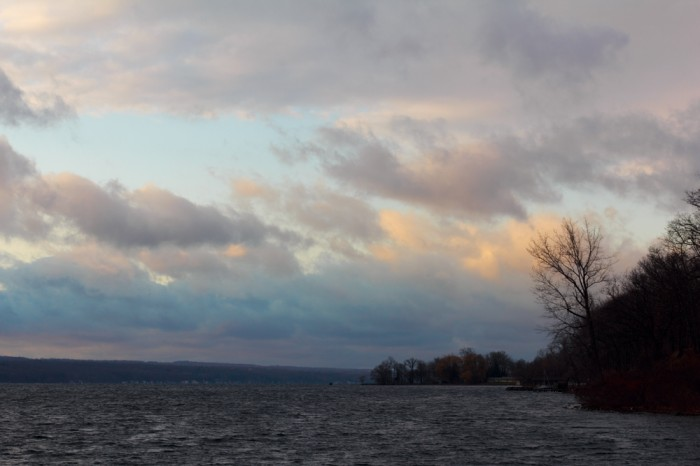 Cayuga Lake, near Ithaca in Upstate NY